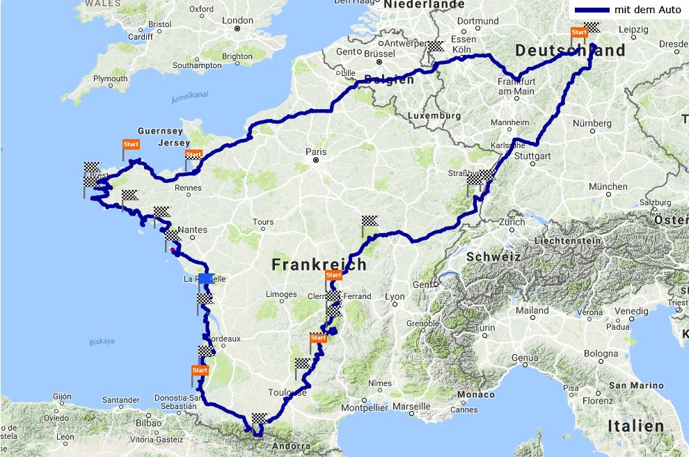 Track Frankreich 2017