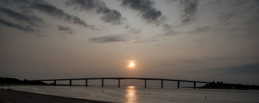 Brücke zur Insel